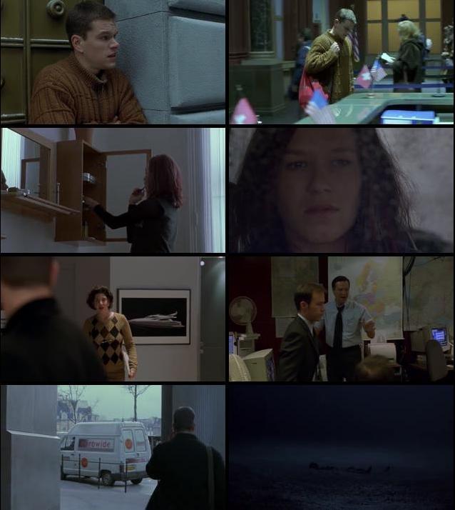 The Bourne Identity 2002 Dual Audio Hindi 720p BluRay