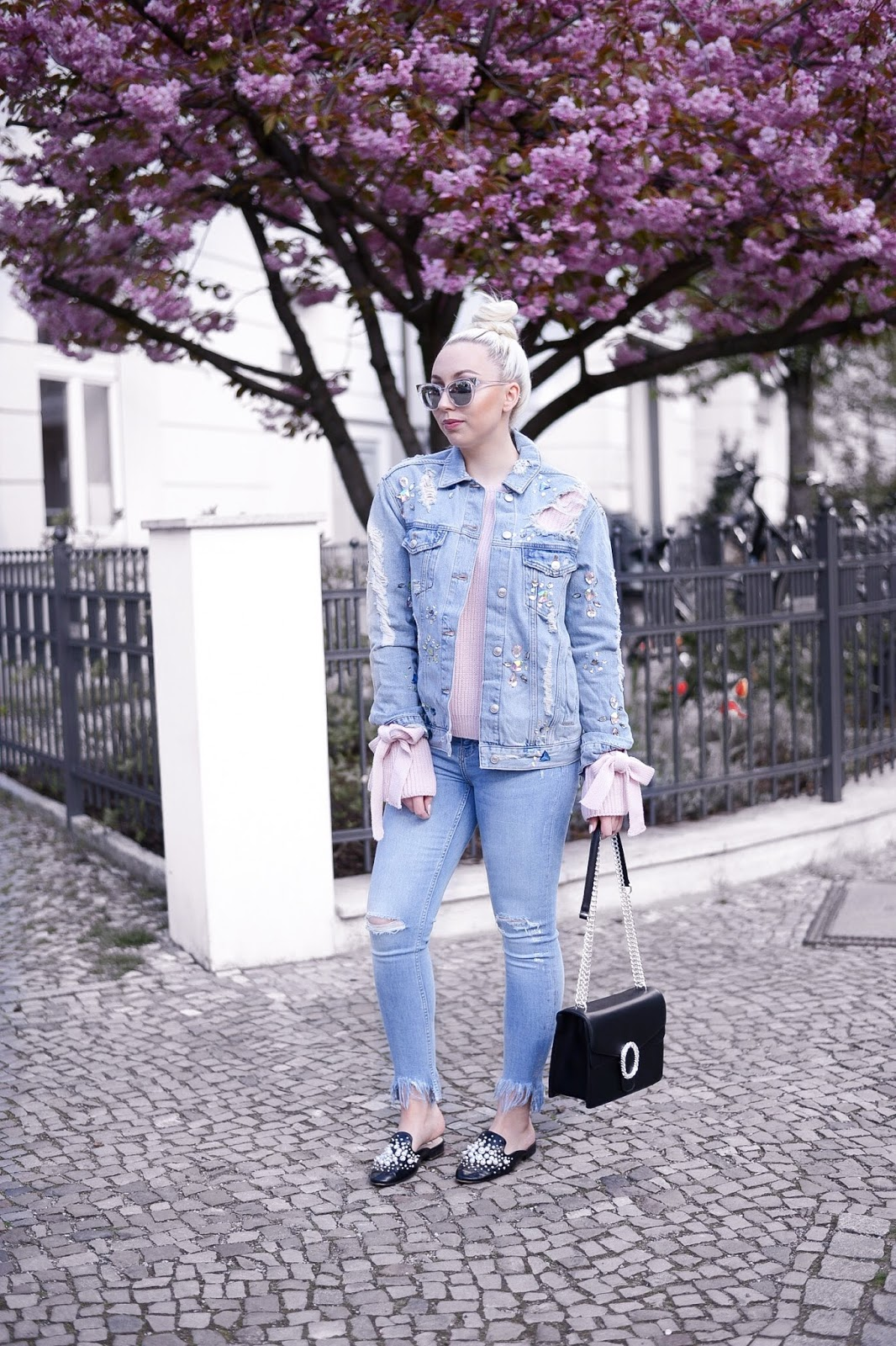 all denim_denim outfit_denim on denim