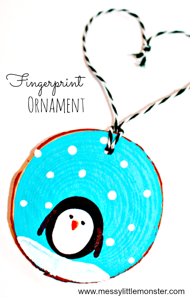 Keepsake Christmas Ornaments Craft For Toddlers