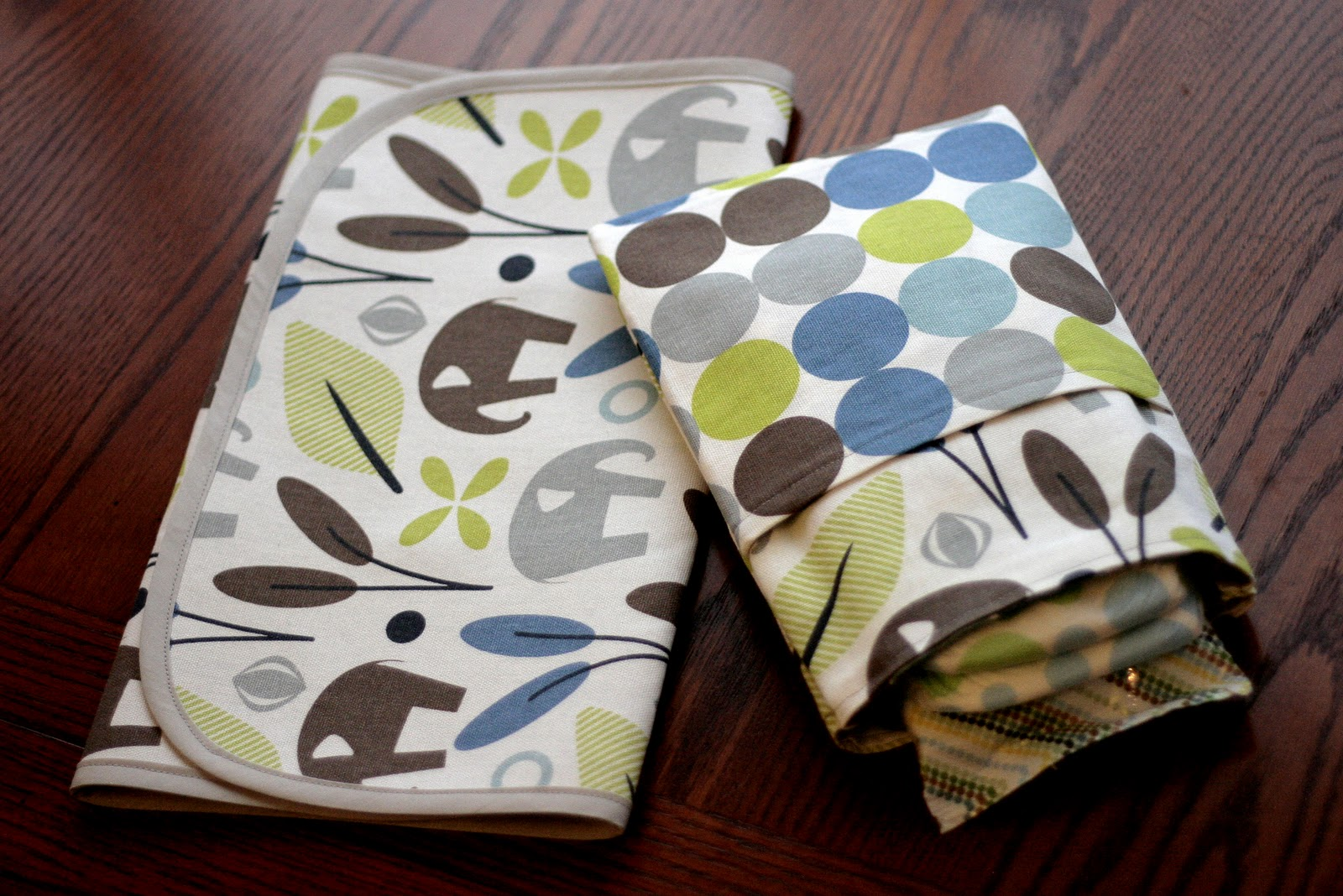 Free Baby Projects To Go Change Mat And Diaper Pouch