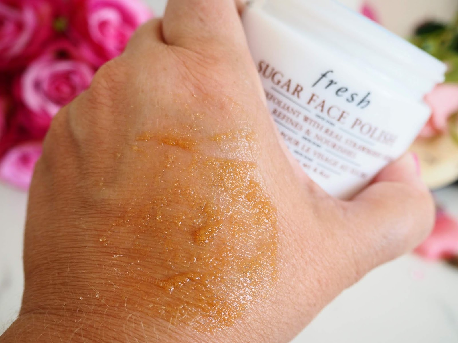 Fresh  Sugar Face Polish 125g swatch