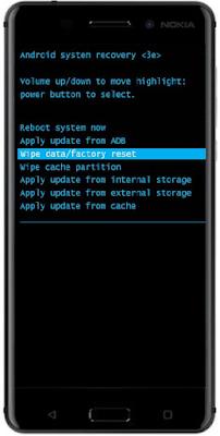 Nokia 6 Recovery Mode