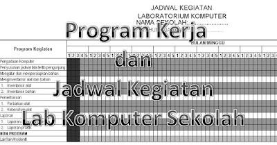 Program Kerja Laboratorium Komputer Jenjang Sd Smp Sma 2017 2018 Rks Rkas Rkt Rkjm Sd Smp