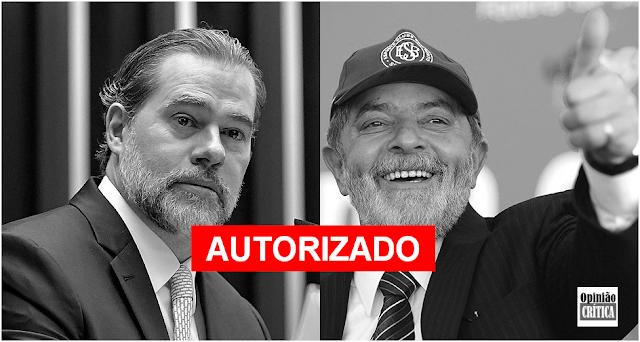 Dias Toffoli autoriza Lula a dar entrevistas da prisão em Curitiba