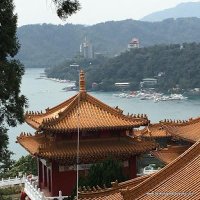 Sun Moon Lake National Scenic Area in Yuchi Township, Nantou County, Taiwan