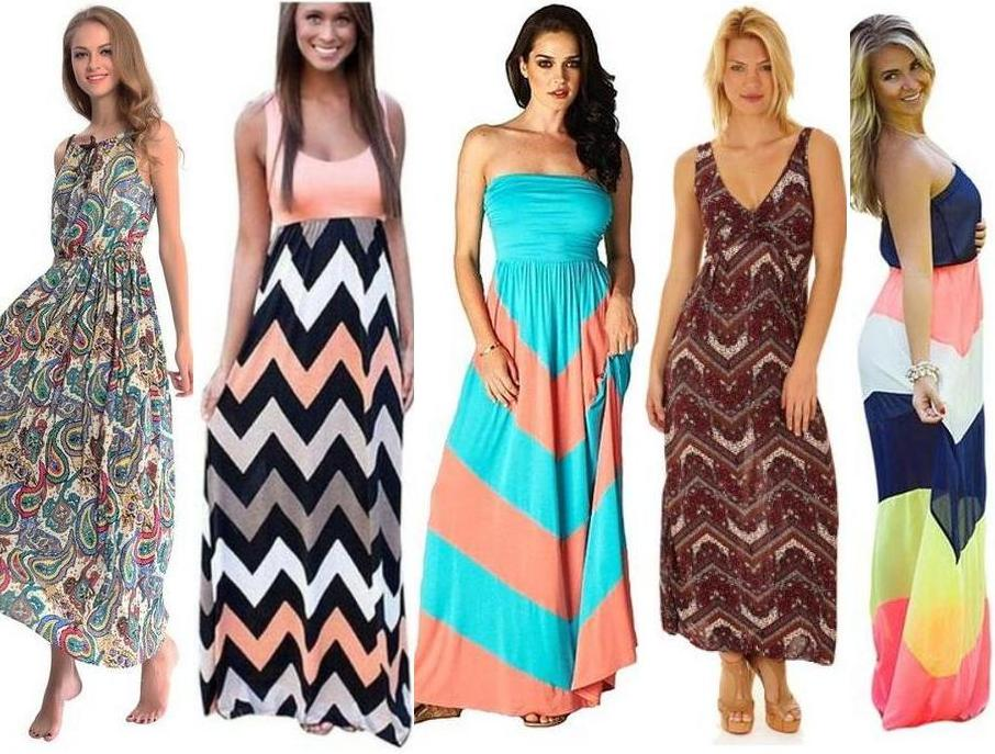 Types Of Maxi Dresses (With Pictures)