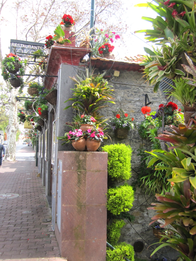 Flower shop in Madeira