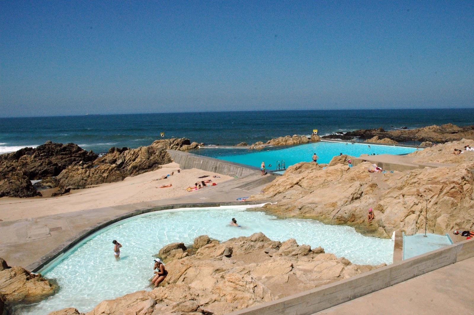 Praias de porto dicas de lisboa e portugal for Piscinas oporto