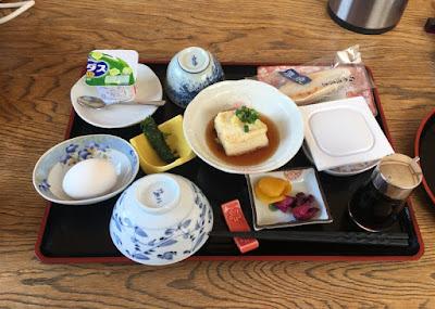 久田の朝定食