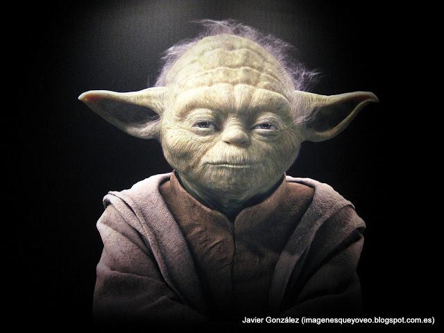 Exposición de Star Wars en Madrid en 2009. Yoda - 2009 Madrid Star Wars Exhibition