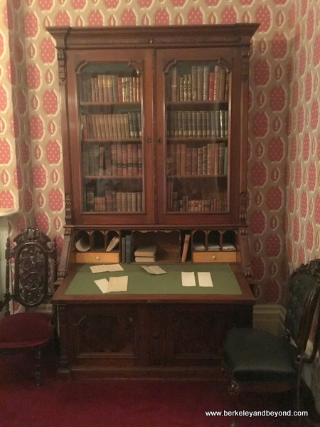 desk at Theodore Roosevelt Birthplace in NYC