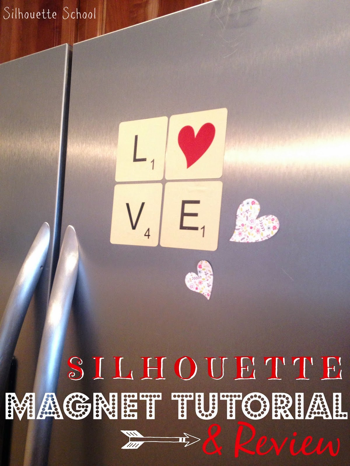 Silhouette magnets, magnets, Silhouette tutorial, Silhouette Studio, Silhouette Cameo
