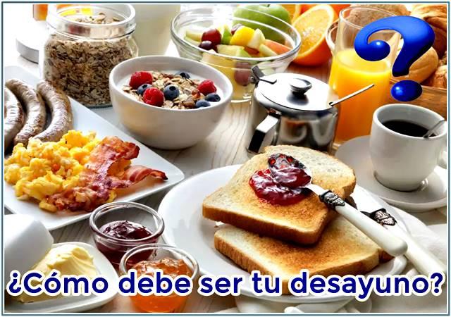 El desayuno a la hora de evitar engordar