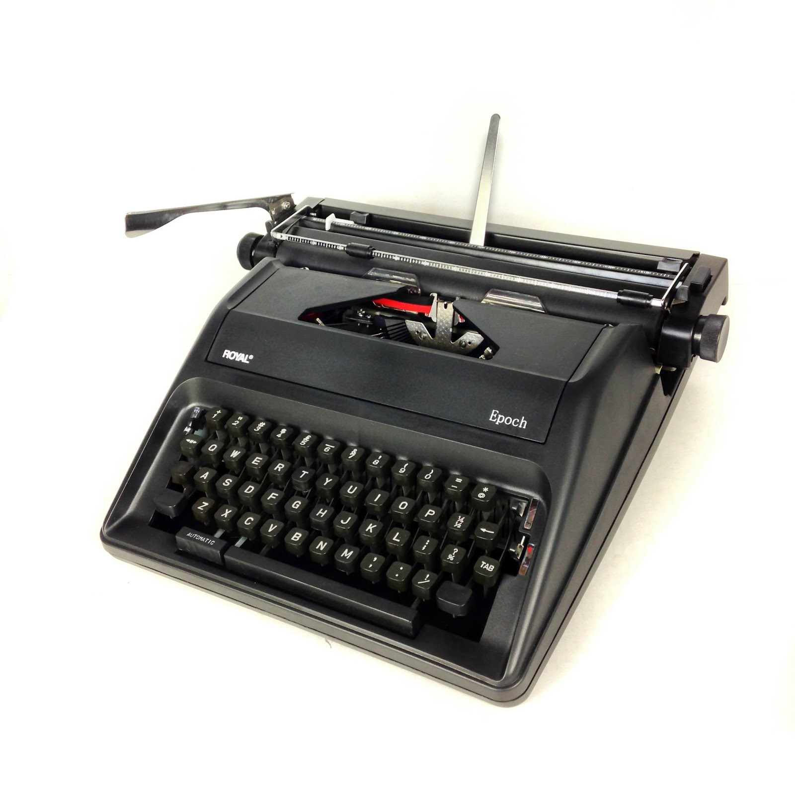 This typewriter has previously been sold under the names Olympia and Rover.  The same mechanical design was introduced in 2016 as the W R Memory Keepers  ...