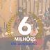 JÁ TEMOS 6 MILHÕES DE ACESSOS! MUITO OBRIGADO!!!