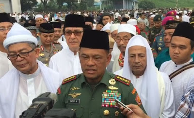 Panglima TNI: Habib Rizieq Jadi Korban Propaganda Australia