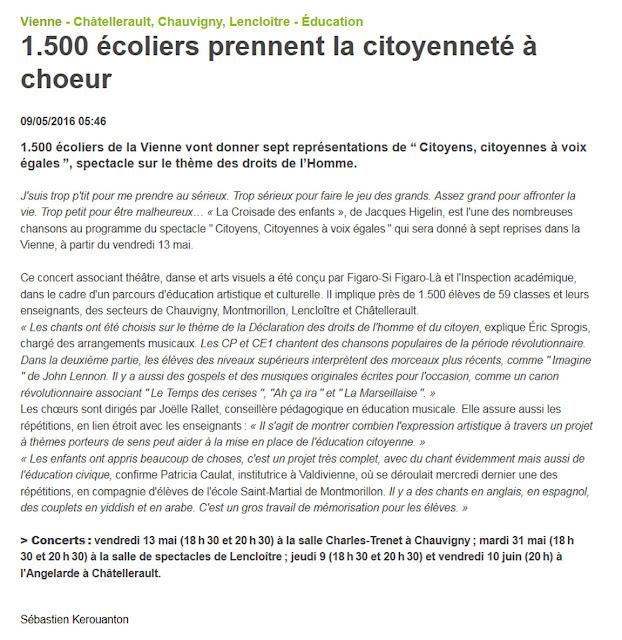 http://www.lanouvellerepublique.fr/Vienne/Actualite/Education/n/Contenus/Articles/2016/05/09/1.500-ecoliers-prennent-la-citoyennete-a-choeur-2710403