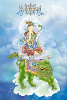 Namo Manjushri Bodhisattva