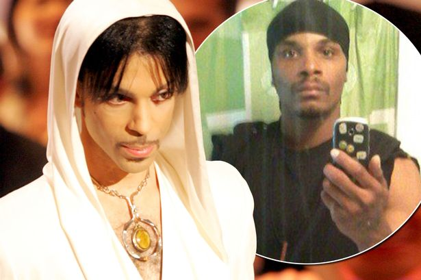picture of man who says he is prince's biological son carlin williams