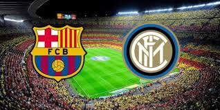 موعد مباراة برشلونة وانتر ميلان ضمن دوري أبطال اوروبا و القنوات الناقلة