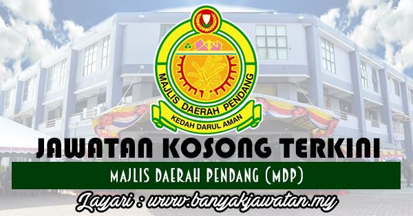 Jawatan Kosong Terkini 2017 di Majlis Daerah Pendang (MDP)
