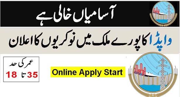 Wapda Jobs 2020 Apply Now