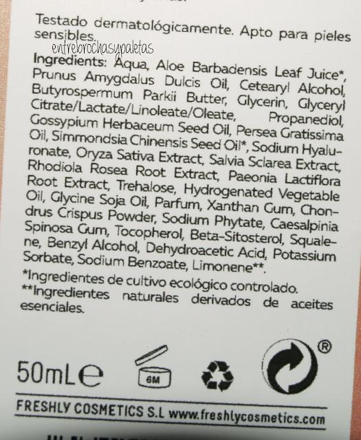 crema manos freshly cosmetics