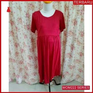 MOM222D16 Dress Hamil Menyusui Mami Simpel Dresshamil Ibu Hamil