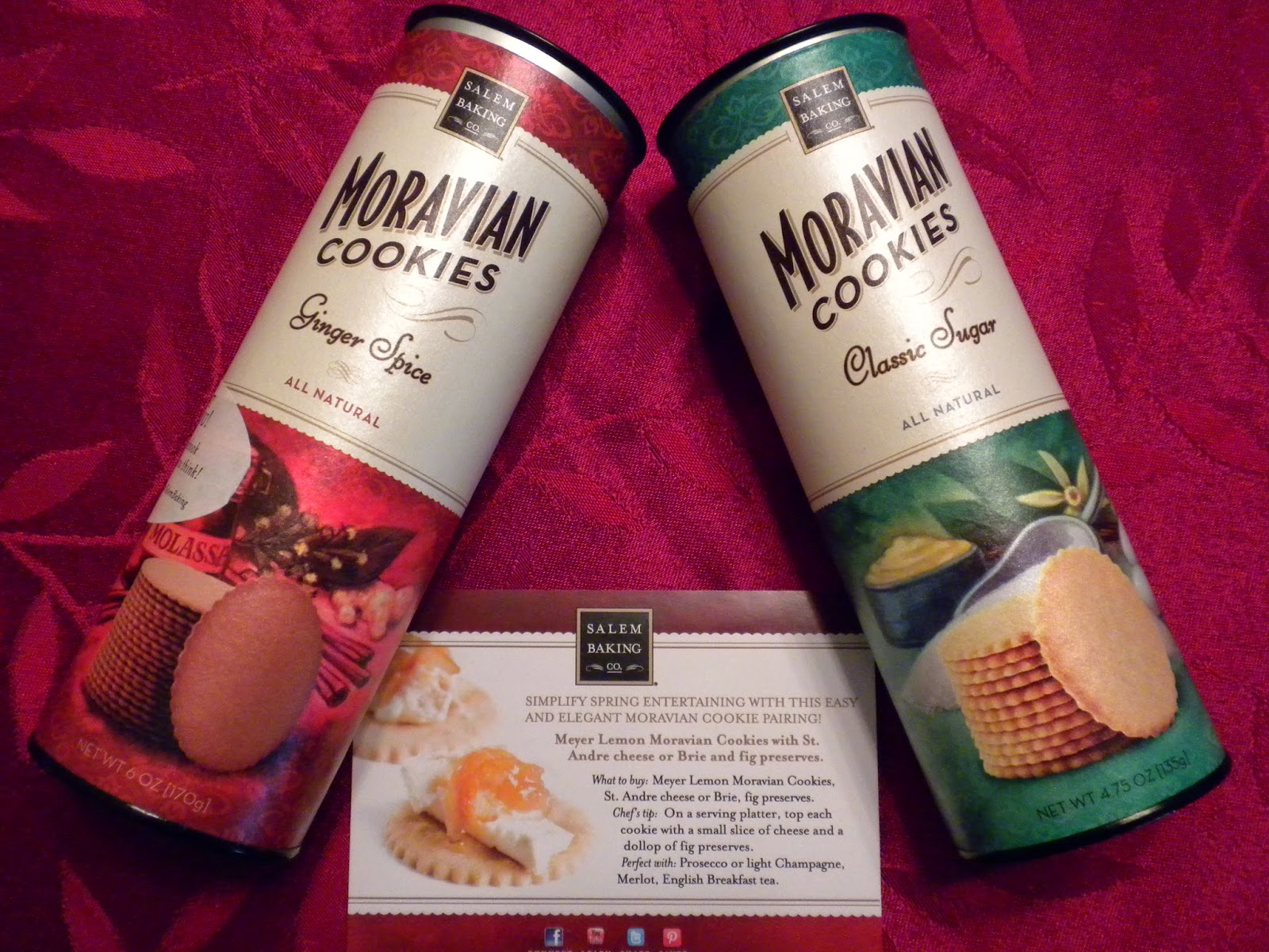 Moravian Cookies by Salem Baking Company
