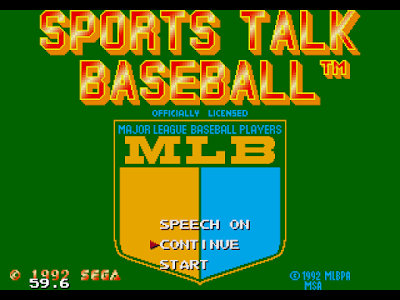 【MD】MLBPA棒球(MLBPA.Sports.Talk.BaseballI),體育運動遊戲!