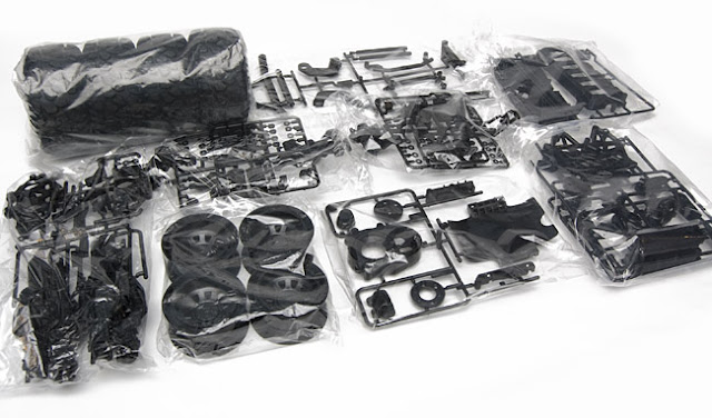 Tamiya CR-01 Toyota Land Cruiser parts