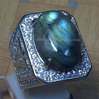 Cincin Batu Permata Labradorite - ZP 860