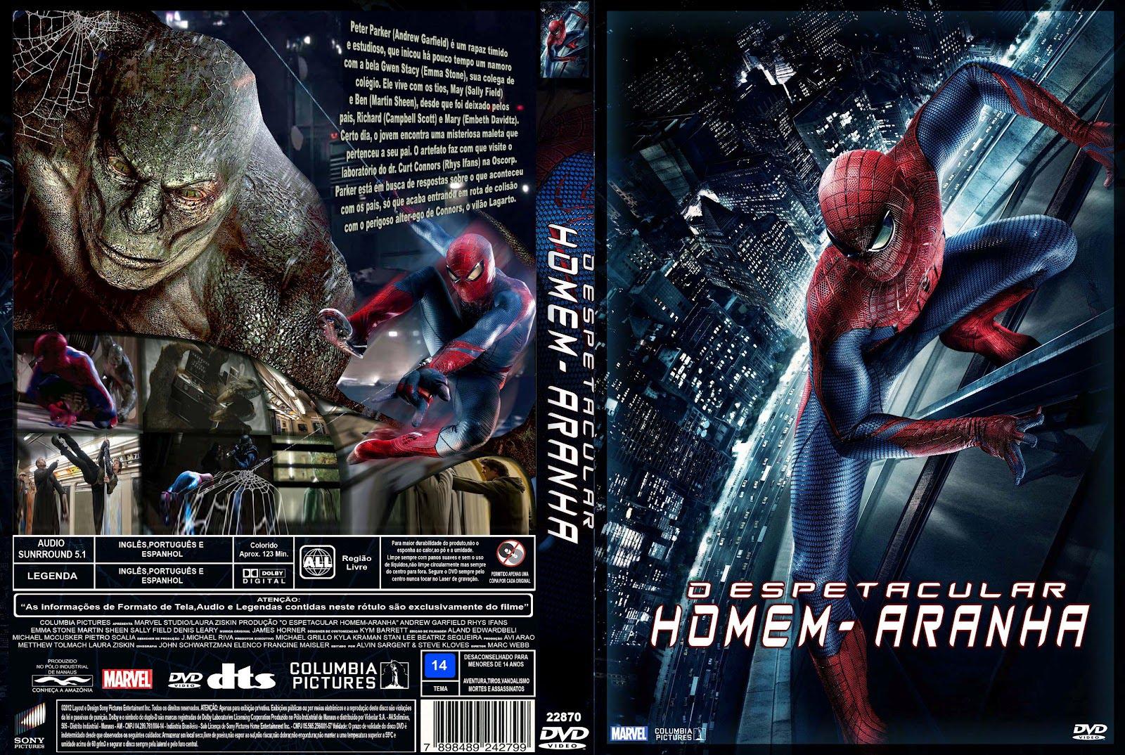 Capasjs O Espetacular Homem Aranha