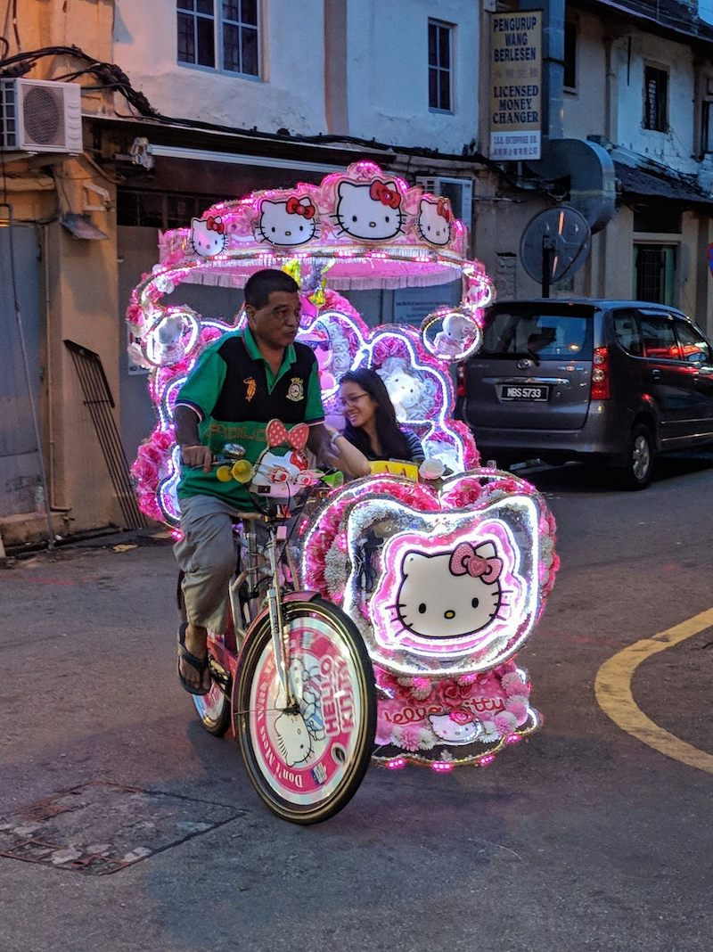 Hello Kitty Overload Photo by Miles Egan Jonker Walk Melaka.