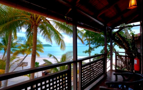 pemandangan di malibest resort langkawi