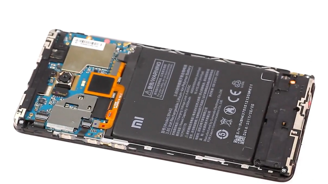 Cara Mengganti Baterai Xiaomi Redmi Note 4 4x Elppas Story Backdoor 4a Langkah 3 Lepas Konektor