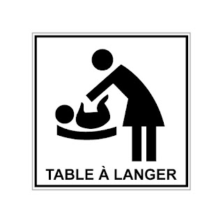 Table à langer