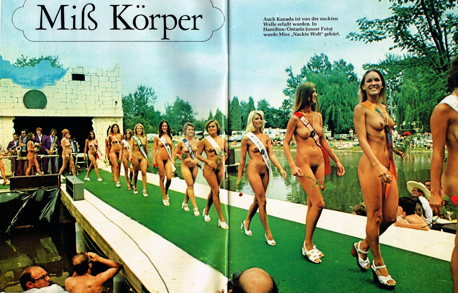 Opinion you Naked outdoor beauty contests