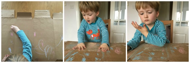 our-weekly-journal-13-feb-2017-collage-of-toddler-drawing-with-chalk