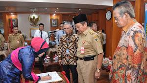 Direktur Operasional PT Bank Sulteng Dilantik, Ini Harapan Gubernur Longki
