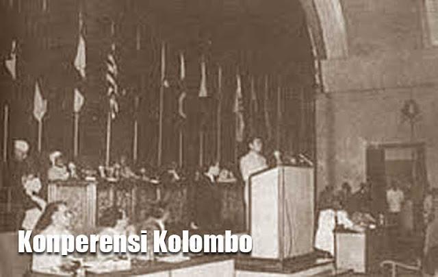 Foto dokumen Konperensi Kolombo
