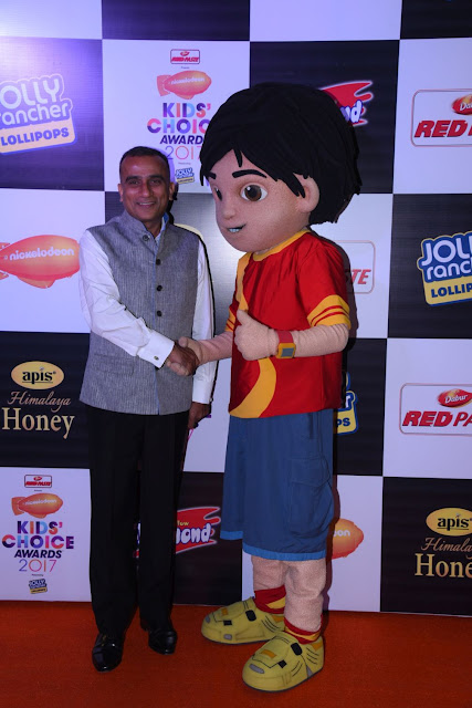 Dabur Red Paste presents Nickelodeon Kids Choice Awards 2017 powered by Jolly Rancher in association with Yellow Diamond and Funskool and Apis Honey