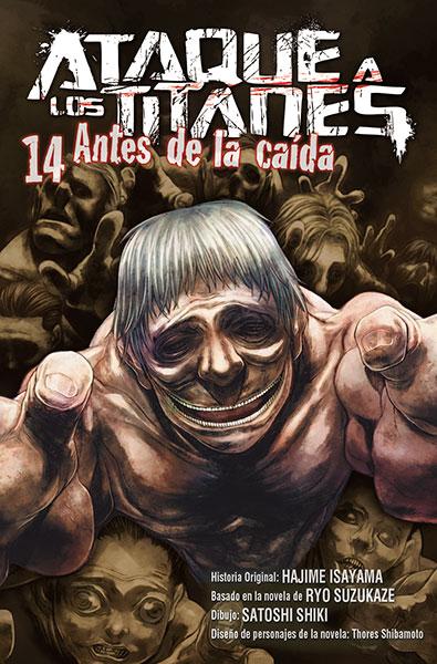 """Reseña de """"Ataque a los Titanes: Antes de la Caída"""" vols. 12, 13 y 14 de Ryo Suzukaze y Satoshi Shiki - Norma Editorial"""
