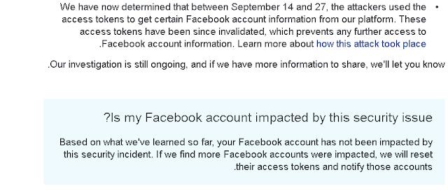 كيفية معرفة ما إذا كان حسابك قد تأثر بخرق فيسبوك الأخير