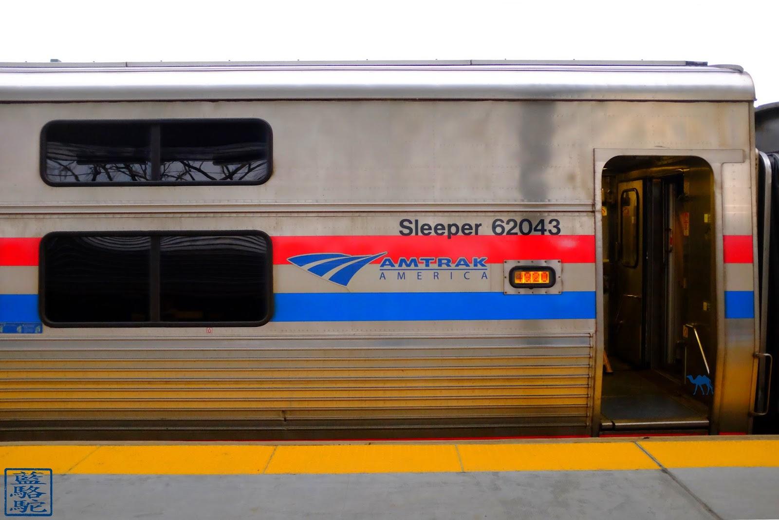 Le Chameau Bleu - Sleeper pour Chicago Train entre Chicago et New York Amtrak