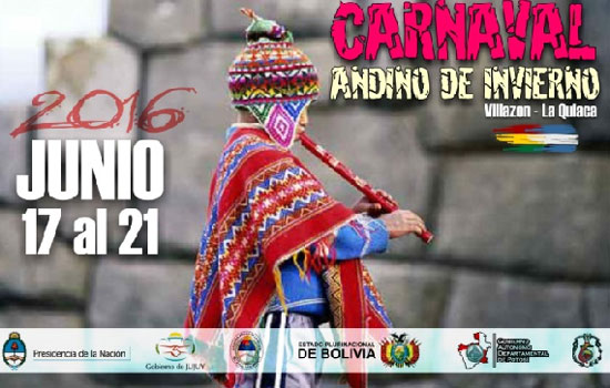 La alegría del Carnaval Andino pone color al invierno 2016 en La Quiaca
