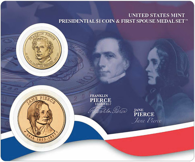 President Franklin Pierce & First Spouse Jane Pierce