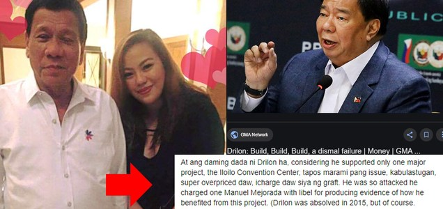 Manila Bulletin writer on Sen. Drilon remarks: