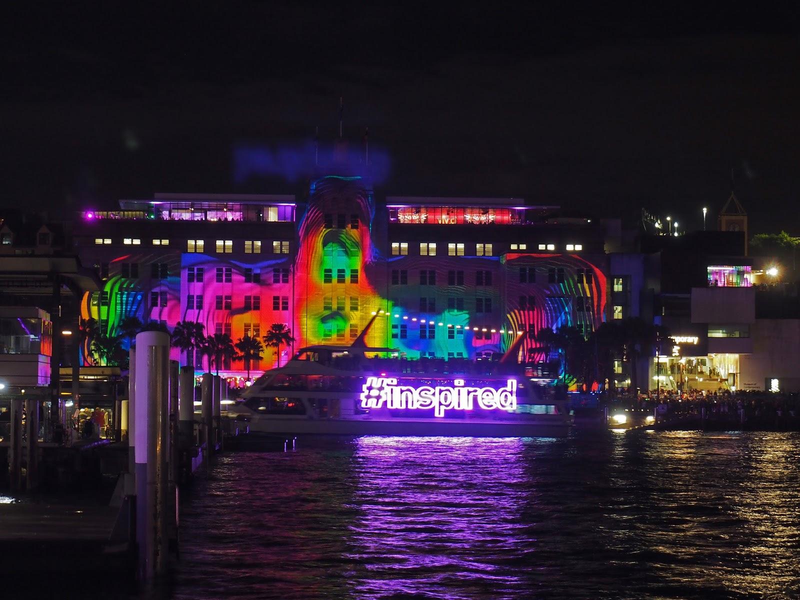 Vivid Sydney Boat