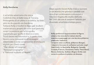 Solo show art exhibition Bottega d'arte Salvadori Pescia Tuscany Italy